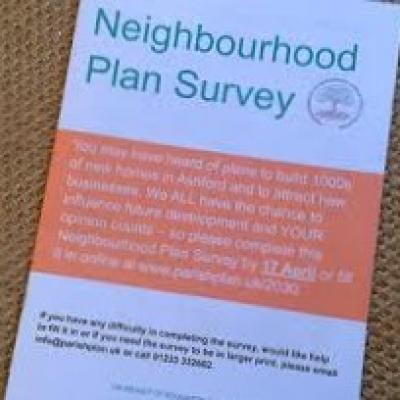 Neighbourhood Plan Survey -  February 2020 Report Now Available